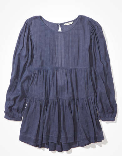 AE Tiered Babydoll Blouse