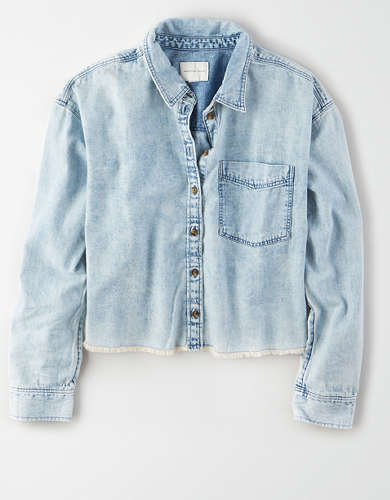 AE Denim Shirt Jacket