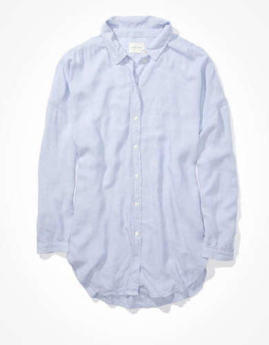 AE Oversized Button Up Shirt