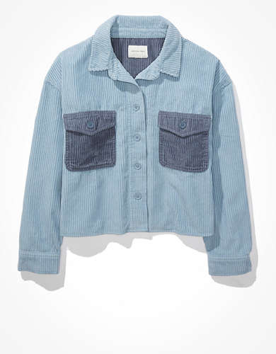 AE Corduroy Shirt Jacket