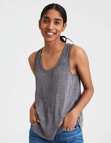 Ribbed Womens Tank Top American Eagle Outfitters