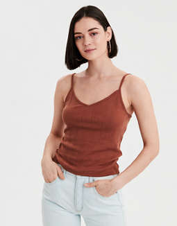 AE Basic Pointelle Cami