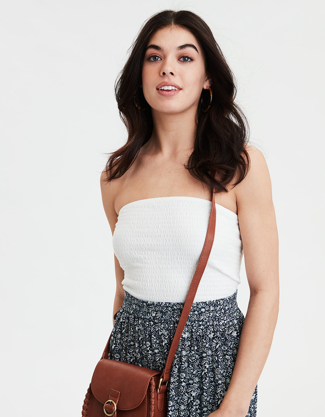 3cb514a7abf9 AEO Smocked Tube Top. Placeholder image. Product Image