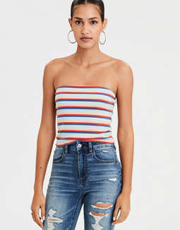 AEO Ribbed Tube Top