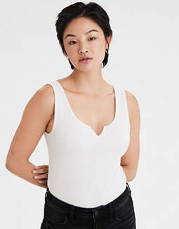 AE Notch Neck Tank Top