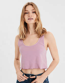 AE Cropped Boy Tank Top