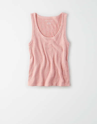 AE Plush Scoop Neck Tank Top