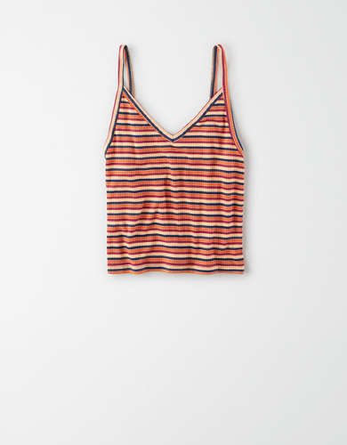 AE Soft & Sexy V-Neck Cropped Cami