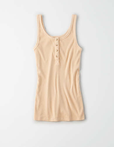 AE Henley Tank Top