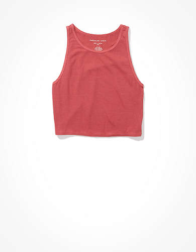 AE High-Neck Crop Tank