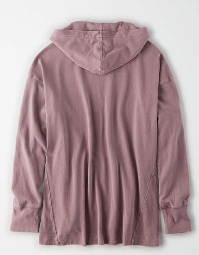 AE Oversized Hooded T-Shirt