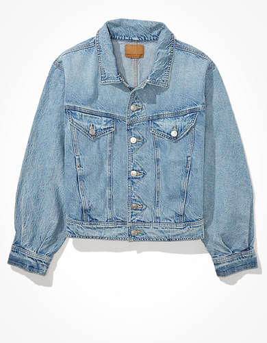 AE Cropped Fashion Denim Jacket