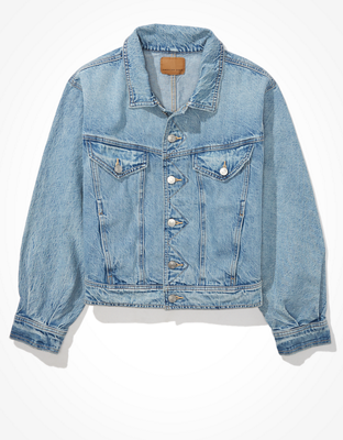 AE Cropped Fashion Denim Jacket