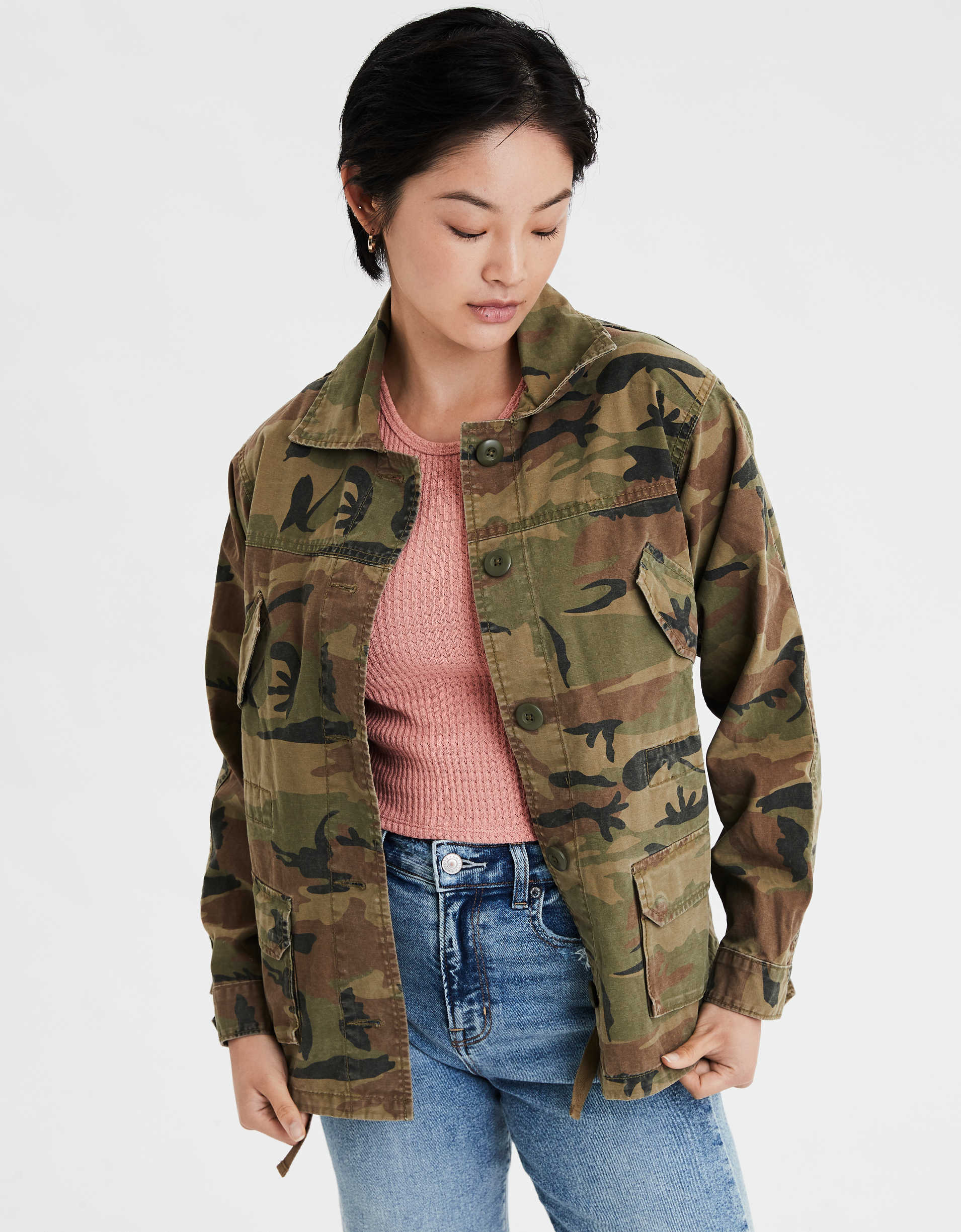 AE Cinched Military Jacket