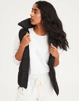Ae Quilted Puffer Vest by American Eagle Outfitters