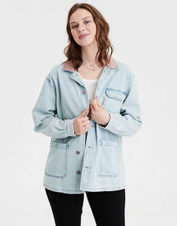 AE Denim Chore Coat