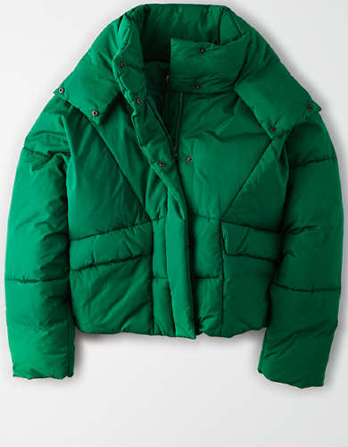 AE 80's Puffer Jacket