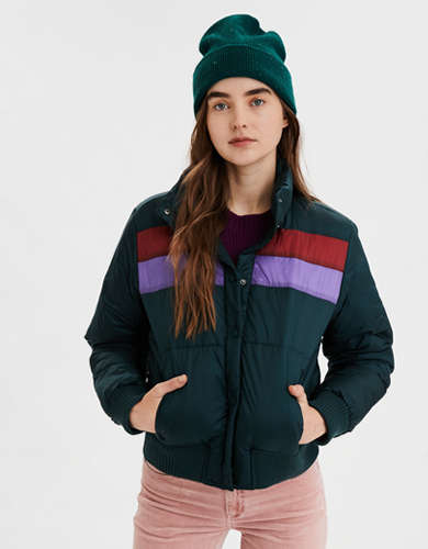AE  Bomber Puffer Jacket