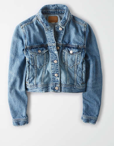 AE Fitted Denim Jacket