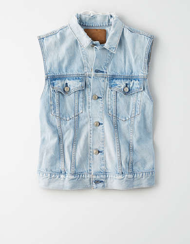 AE Boyfriend Denim Vest