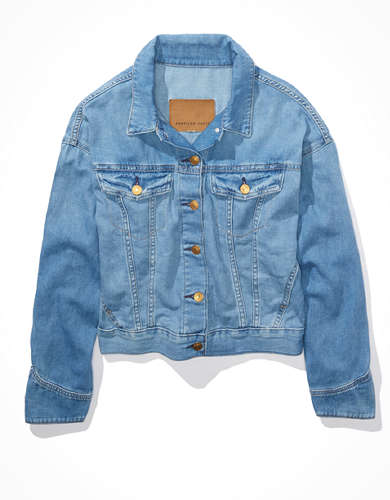 AE Hemp Denim Jacket