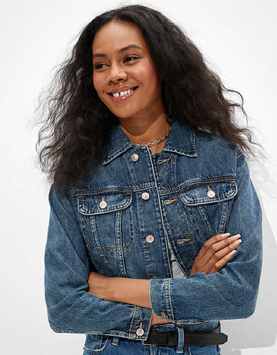 AE Denim 70's Boyfriend Jacket