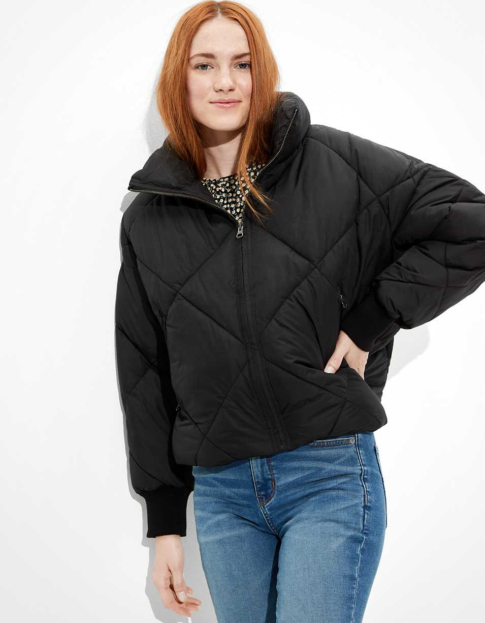 AE Quilted Reversible Puffer Jacket