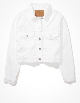 AE Classic White Denim Jacket
