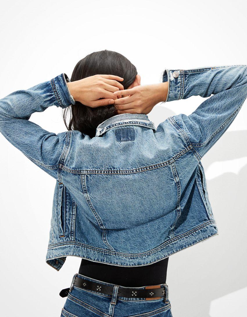 AE Shrunken Denim Jacket