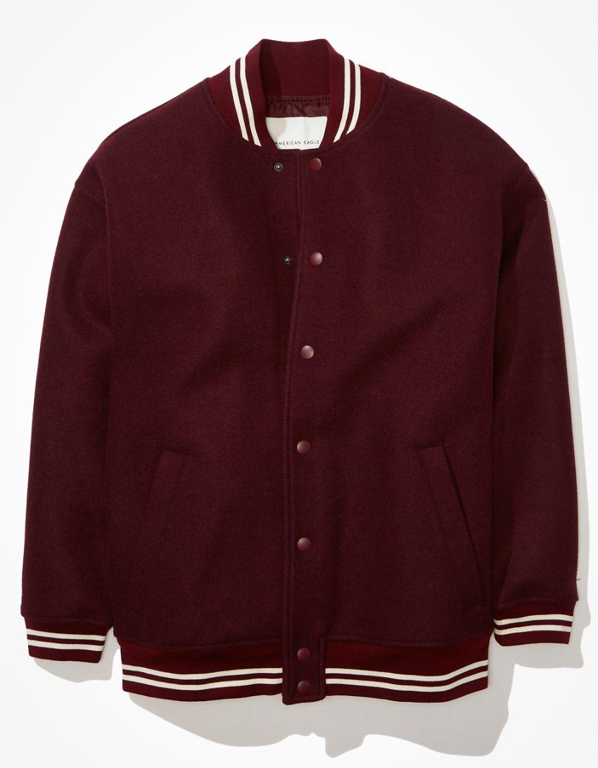AE Oversized Varsity Jacket