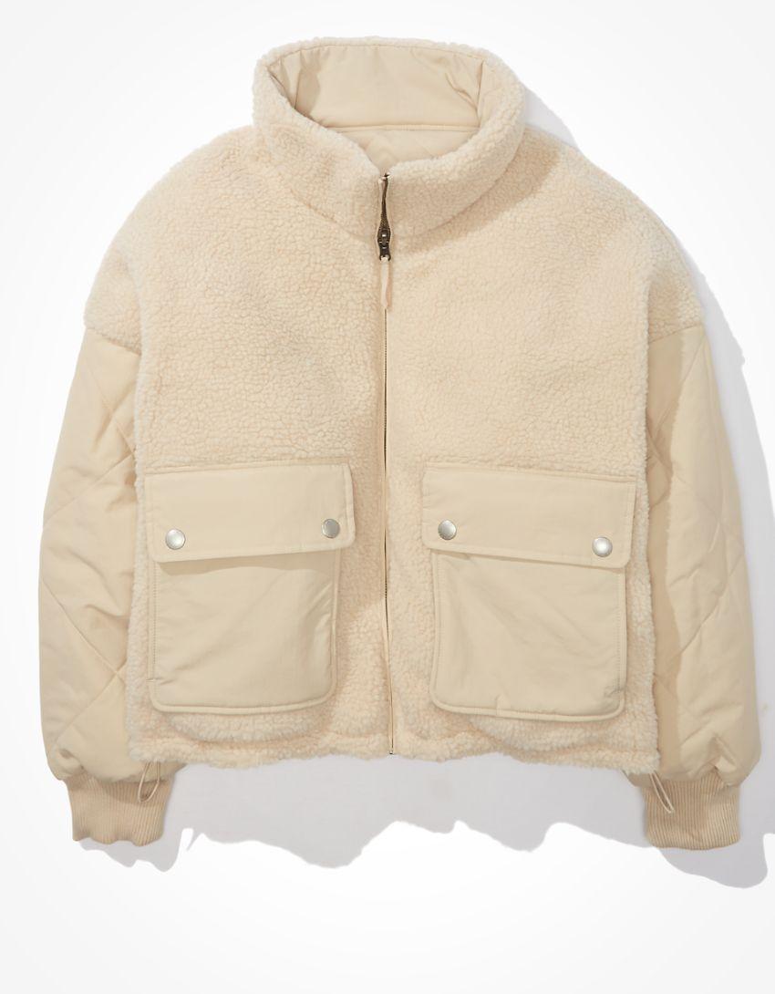 AE Reversible Puffer Jacket
