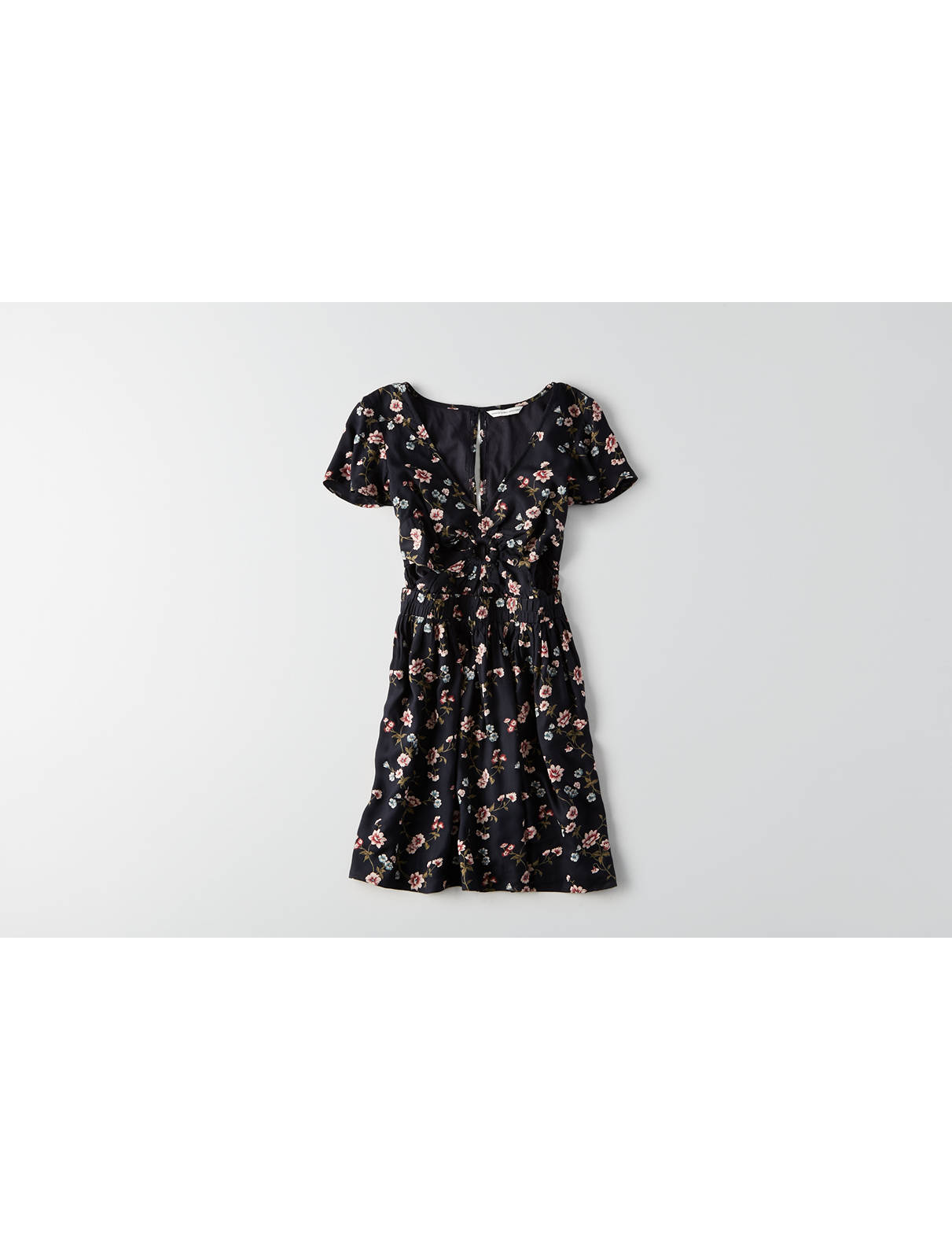 Display product reviews for AEO Keyhole Fit & Flare Dress