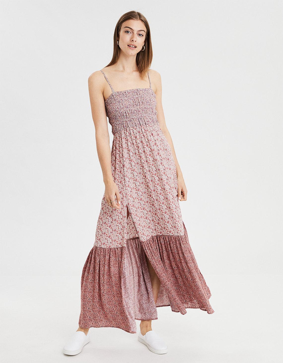 264f08876a5 AE Print Mix Tube Dress