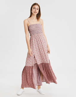 Ae Print Mix Tube Dress by American Eagle Outfitters