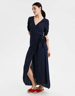 AE Wrap Maxi Dress