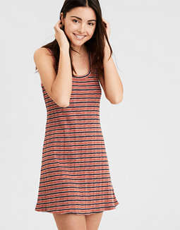 AE Knit Ribbed Tank Dress