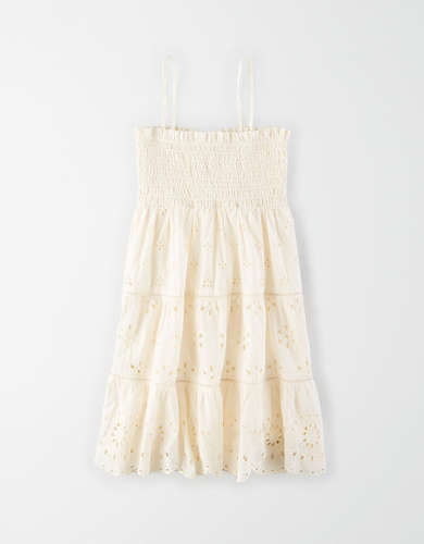 AE Smocked Tube Babydoll Dress
