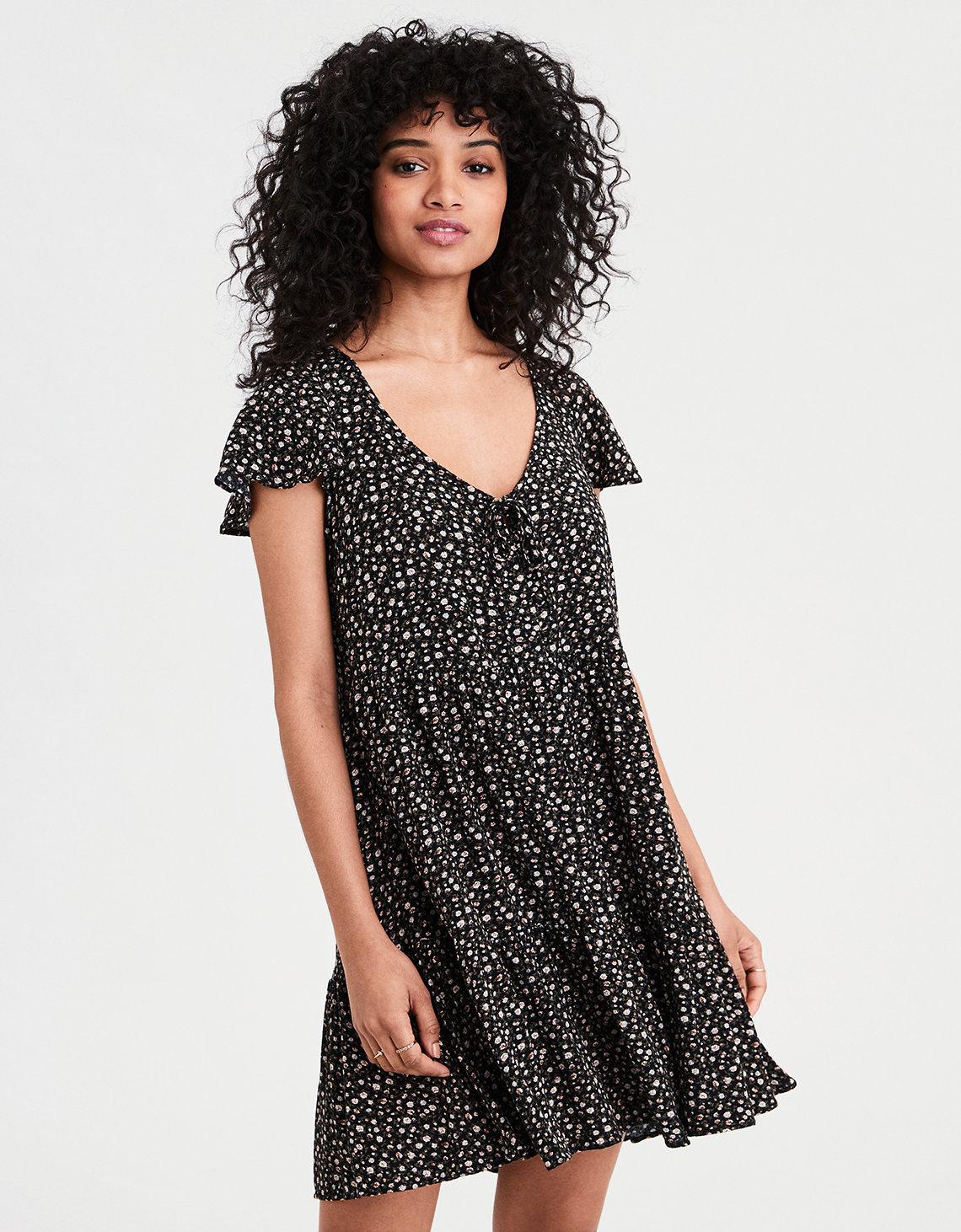 62819fed1eed AE Tiered Babydoll Dress