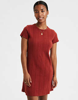 AE Knit T-Shirt Dress