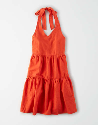 AE Halter Babydoll Dress