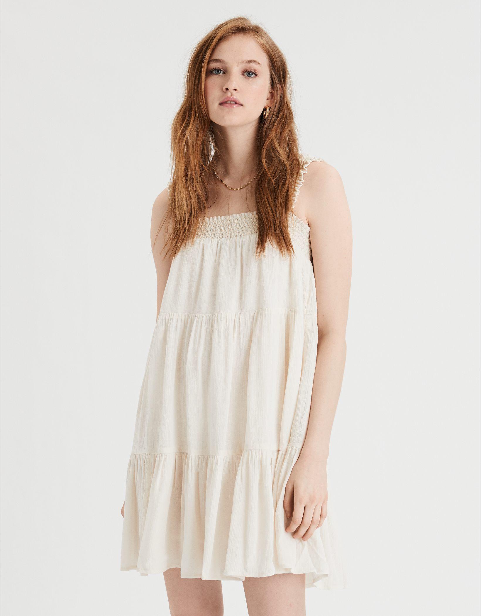 AE Smocked Babydoll Dress