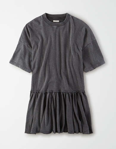 AE Oversized Fleece Babydoll Dress