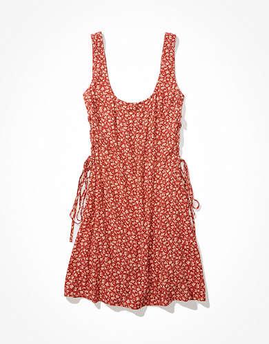 שמלת מיני קשירה בצד אמריקן איגל
