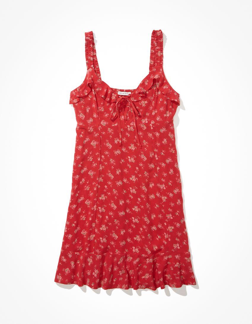 AE Ruffle Mini Dress