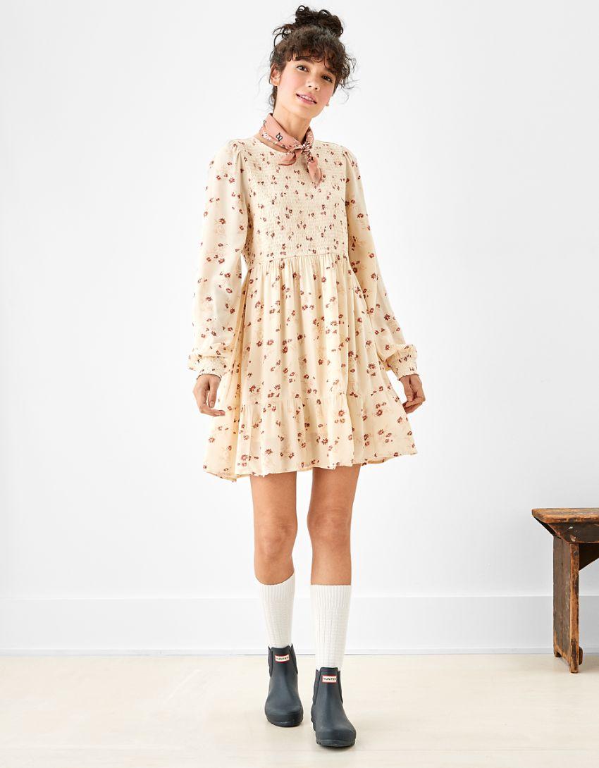 AE Smocked Mini Dress