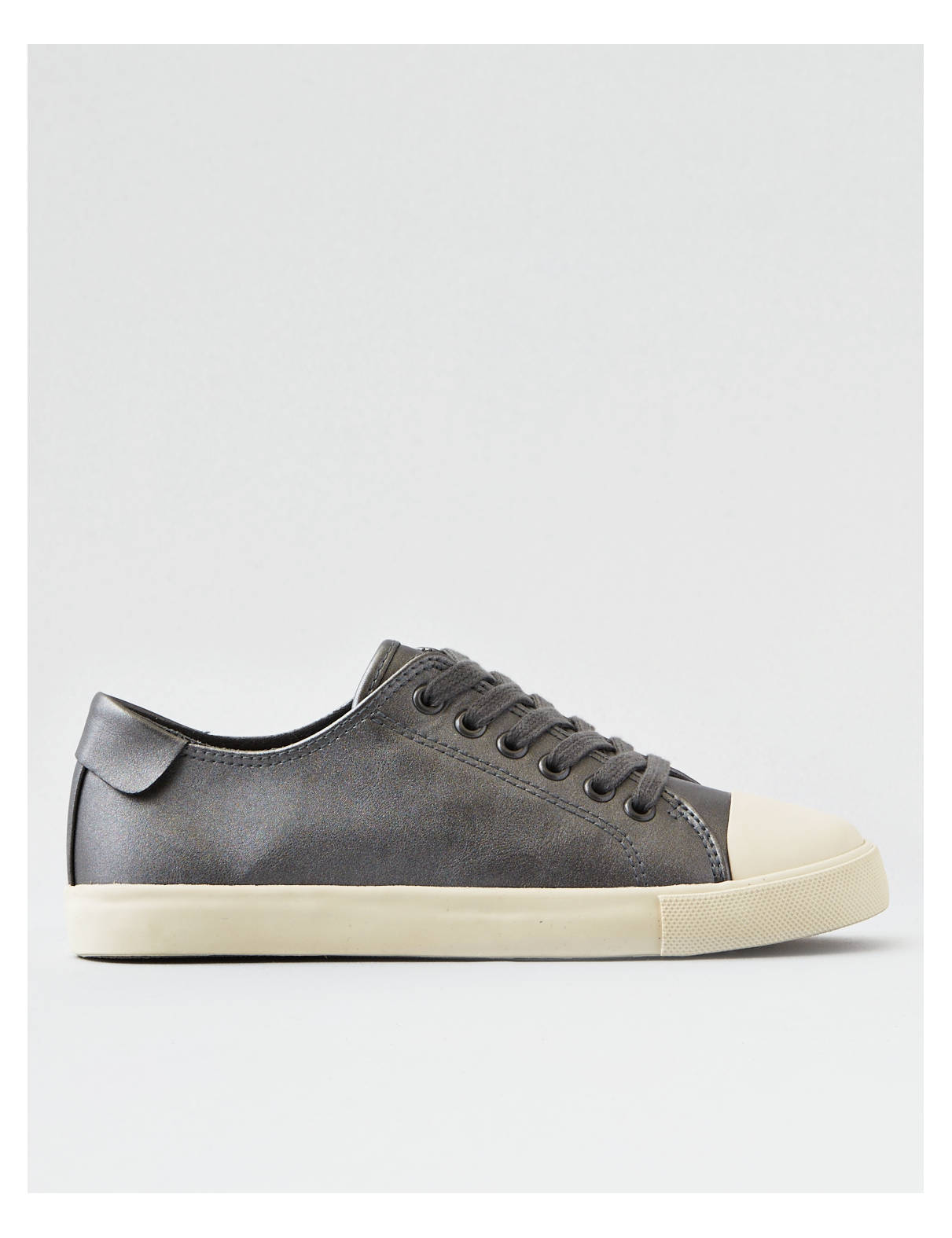 Display product reviews for AEO Metallic Low Top Sneaker