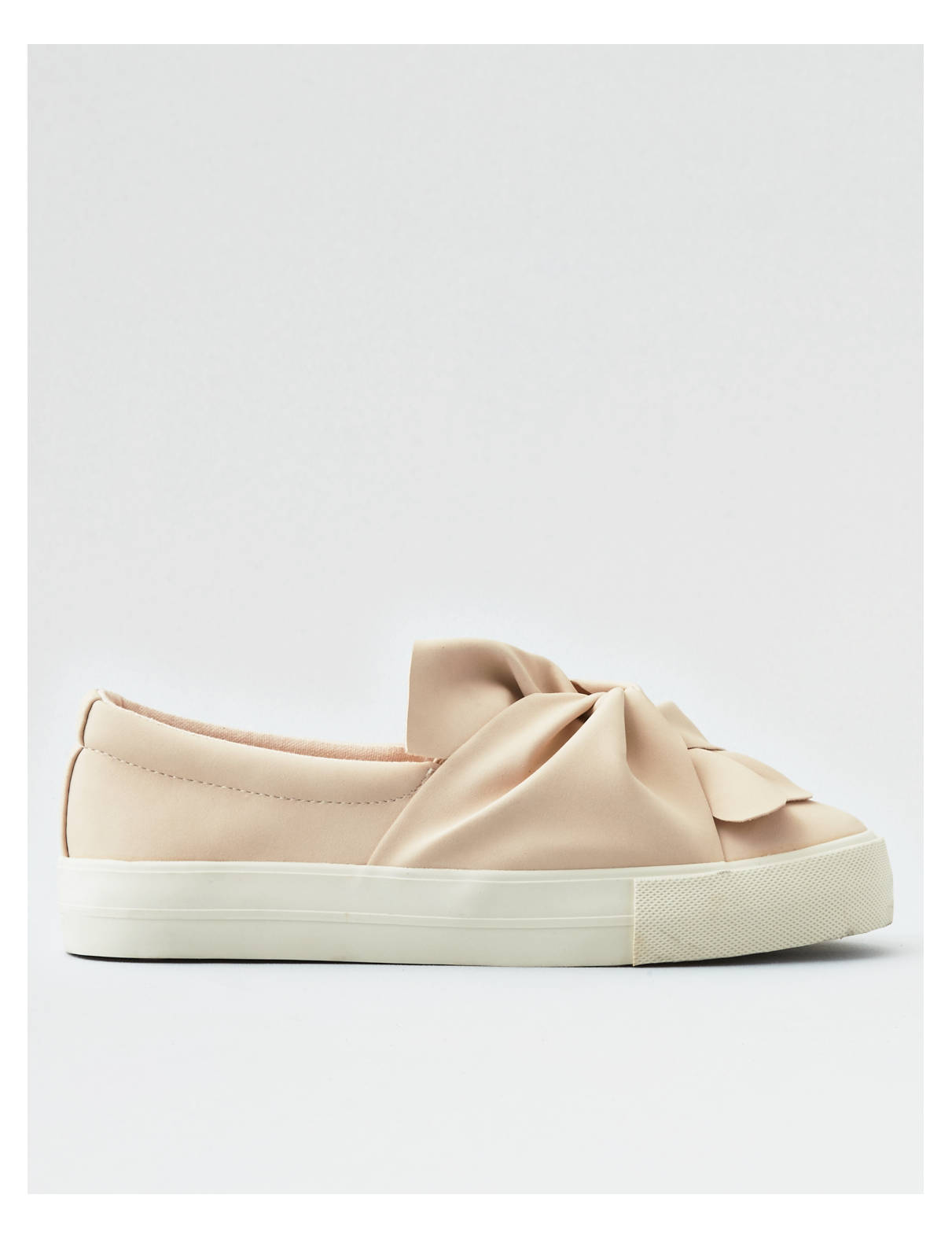 Display product reviews for AEO Gathered Knot Slip On Sneaker