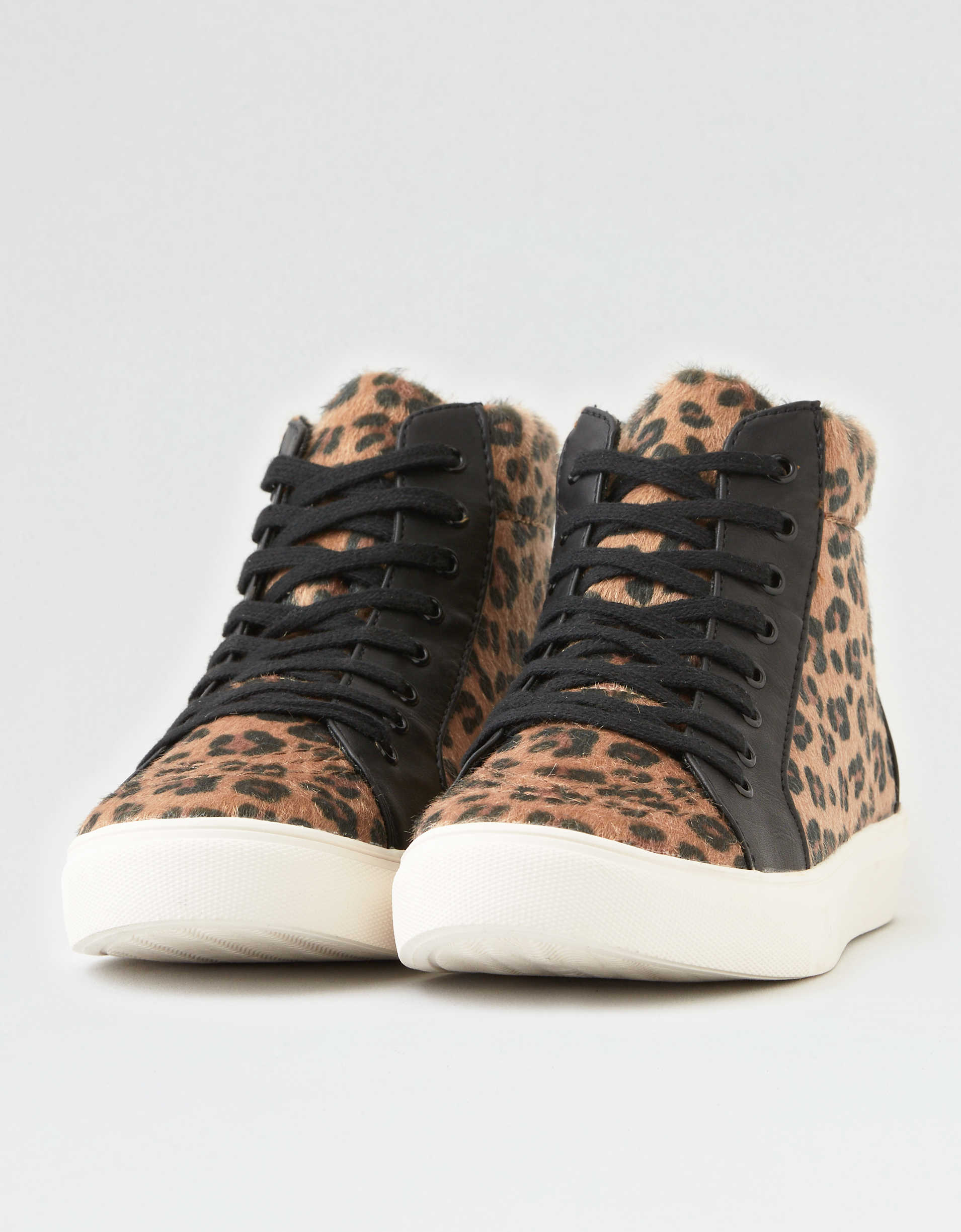 AEO Leopard  High Top Sneaker