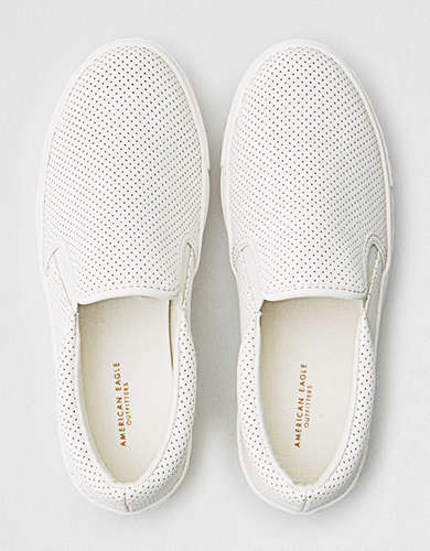 AEO Perforated Slip-on Sneaker