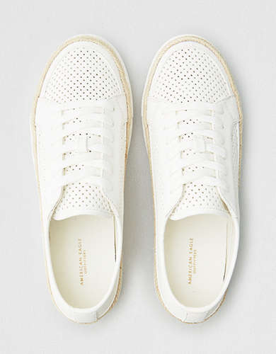 AEO Perforated Espadrille Sneaker